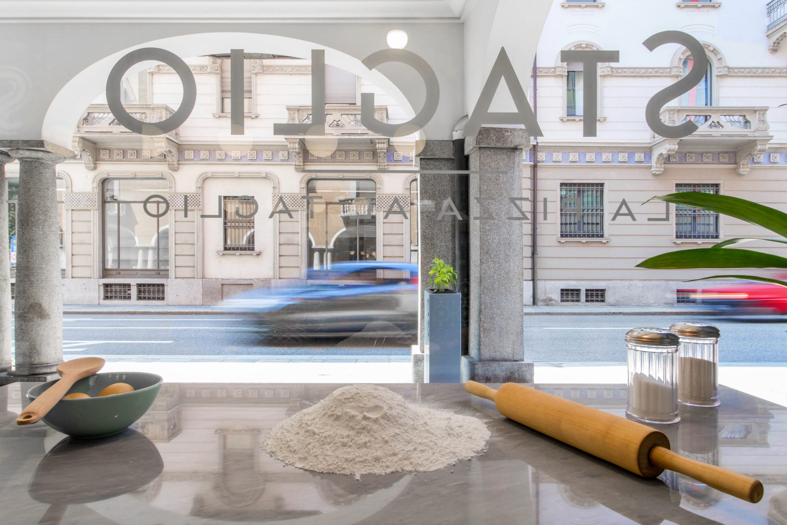 il negozio di Lugano - vetrina