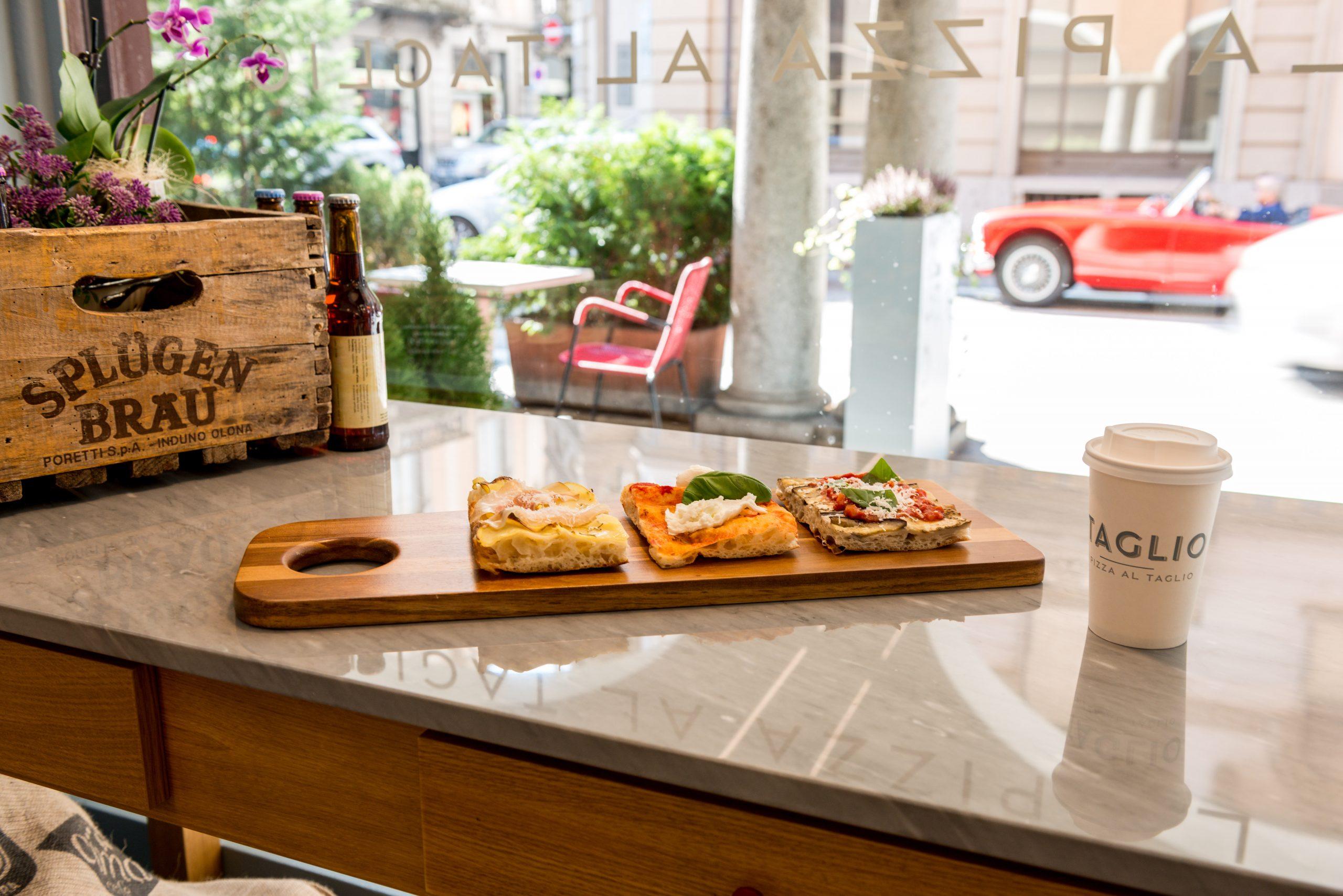 il negozio di Lugano - vetrina e tranci