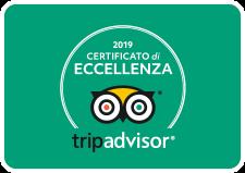 TripAdvisor - Certificato di Eccellenza